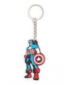 Брелок Marvel Comics – Captain America Rubber Keychain