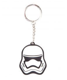 Брелок Star Wars – Stormtrooper Rubber 3D Keychain