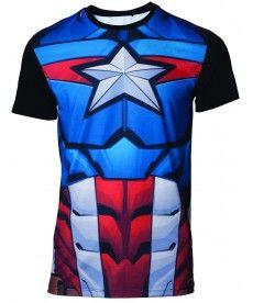 Футболка Marvel – Captain America Men's T-shirt - S