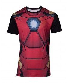 Футболка Marvel – Sublimated Iron Man Men's T-shirt – XL