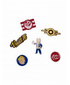 Набір із 6 значків Fallout 76 - Set Of 6 Metal Pins