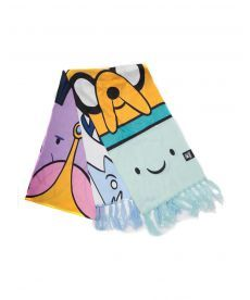 Шарф Adventure Time - All Characters Knitted Scarf