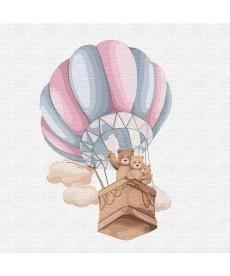 Картина по номерам  Семейный полет  30*30 см (KHO2351)