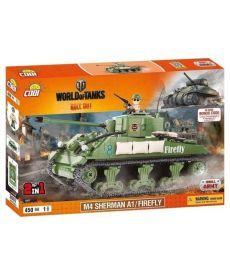 Конструктор COBI World Of Tanks Шерман Файрфлай(COBI-3007A)