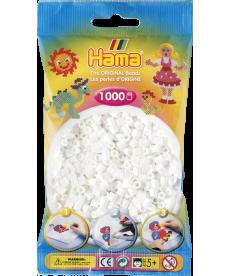 Термомозаика HAMA Набор белых бусин (207-01)