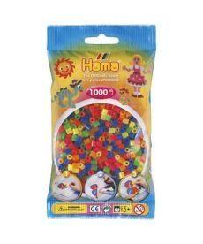 Термомозаика HAMA Набор цветных бусин, 1.000 шт, 6 неоновых цветов(207-51)