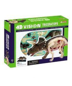4D Master Объемная анатомическая модель Динозавр Трицератопс