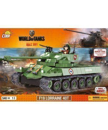 Конструктор COBI World Of Tanks F19 Лоррейн 40T 540 деталей