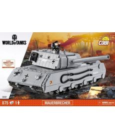 Конструктор COBI World Of Tanks Mauerbrecher 875 деталей