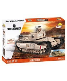 Конструктор COBI World Of Tanks Mk IV Черчиль I 530 деталей