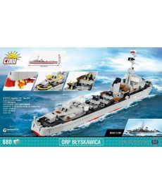 Конструктор COBI World Of Warships Эсминец Блыскавица 680 деталей