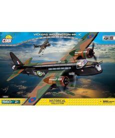 Конструктор COBI Вторая Мировая Война Самолет Виккерс Веллингтон 560 деталей
