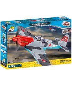 Конструктор COBI Вторая Мировая Война Самолет Як-3 235 деталей