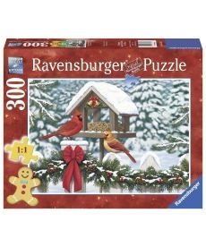 Пазл Ravensburger Кардиналы на Рождество 300 элементов