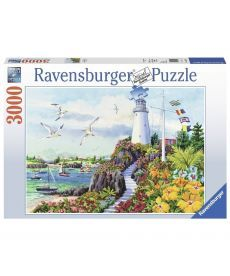 Пазл Ravensburger Рай на побережье 3000 элементов