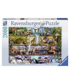 Пазл Ravensburger Царство диких животных 2000 элементов
