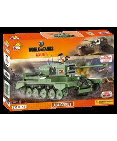 Конструктор COBI Word Of Tanks A34 Комета 530 деталей