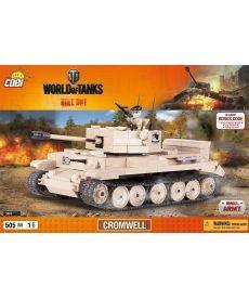 Конструктор COBI World Of Tanks Кромвель 505 деталей