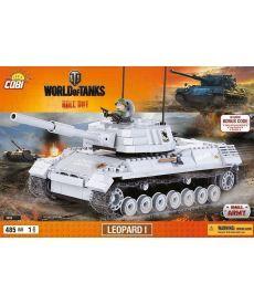 Конструктор COBI World Of Tanks Леопард I 470 деталей