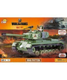 Конструктор COBI World Of Tanks М46 Паттон 525 деталей
