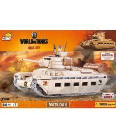 Конструктор COBI World Of Tanks Матильда 500 деталей