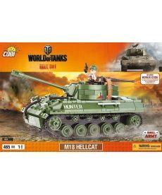 Конструктор COBI World Of Tanks САУ М18 Хеллкет 465 деталей