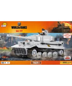 Конструктор COBI World Of Tanks Тигр I 555 деталей