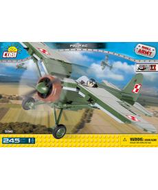 Конструктор COBI Вторая Мировая Война Самолет PZL P11C 245 деталей