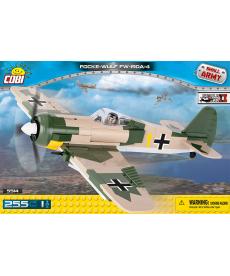 Конструктор COBI Вторая Мировая Война Самолет Фокке-Вульф 255 деталей