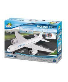 Конструктор COBI Самолет Boeing-777 260 деталей