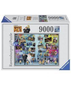 Пазл Ravensburger Миньоны 9000 элементов