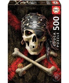 Пазл EDUCA Пиратский череп 500 элементов