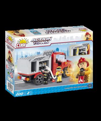 Конструктор COBI Пожарная насосная машина 200 деталей