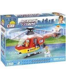 Конструктор COBI Спасательный вертолет 150 деталей