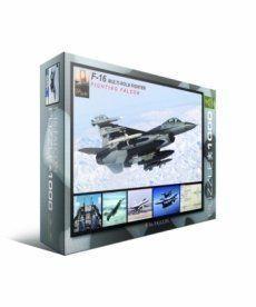 Пазл Eurographics F-16 в полете 1000 элементов