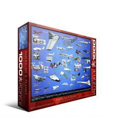 Пазл Eurographics Америанские самолеты-разведчики 1000 элементов