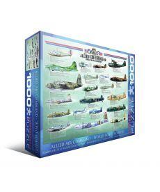 Пазл Eurographics Бомбардировщики 2-й Мировой войны 1000 элементов