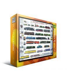 Пазл Eurographics История поездов 1000 элементов