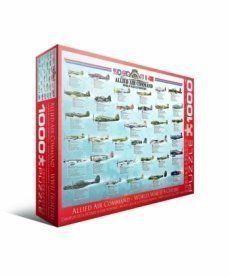 Пазл Eurographics Истребители 2-й Мировой войны 1000 элементов