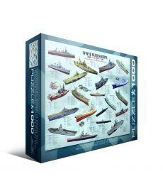 Пазл Eurographics Корабли 2-й Мровой войны 1000 элементов