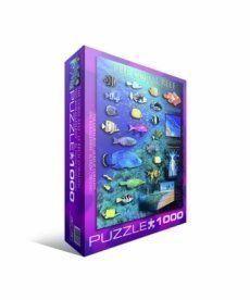 Пазл Eurographics Коралловый риф 1000 элементов