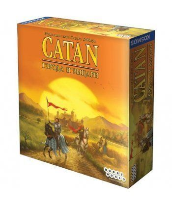 Настольная игра CATAN (Колонизаторы). Города и Рыцари (дополнение)