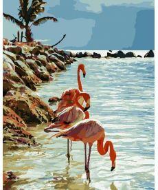 Картина по номерам Фламинго 40 х 50 см (AS0740)
