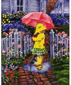 Картина по номерам Дождливый день 40 х 50 см (AS0764)