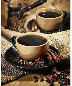 Картина по номерам Кофе для гурмана 40 х 50 см (AS0773)