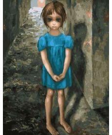 Картина по номерам Дочь. Маргарет Кин 40 х 50 см (BK-GX29289)