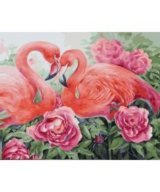 Картина по номерам Розовая нежность 40 х 50 см (BK-GX31635)