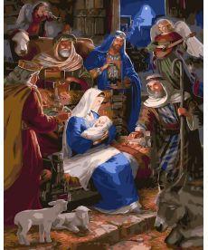 Картина по номерам Рождество 40 х 50 см (BRM32957)