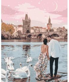 Картина по номерам Прогулка по Праге 40 х 50 см (KHO4652)