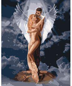 Картина по номерам Ты мой ангел 40 х 50 см (KHO4665)